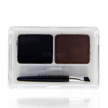 2 Color Cosmetic Natural Matte Eyeshadow Cream Eye Shadow Makeup Palette