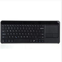 2016 IBK-14 Touchpad Wireless Bluetooth Keyboard For iOS/ Android/ Windows Support Remote Control High Quality MEAFO