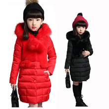 Buy Teenagers Girls Jacket 2017 Winter Thick Cotton Padded Jacket Girls Outerwear Coat Children Long Parkas Jacket Kids Clothes for $22.14 in AliExpress store