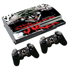 Good design wonderful skin For PS3 Fat Console and Two Controller Decals(China)