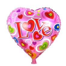 18'' Heart Foil Balloons Marry Wedding Party Decoration Ballon Valentine'S Day Globos De Fiesta Love Heart Balloon I LOVE YOU