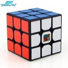 RCtown Moyu 3rd orde MF3RS speed magic cube Puzzle sticker less 56mm professional cubo magico educational toys for children(China)