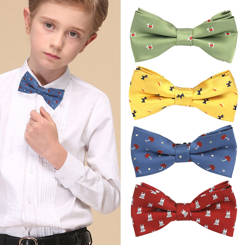 Newly Children Kids Boy Girl Bow Tie Necktie Gift Fashion For Wedding School Party Tuxedo