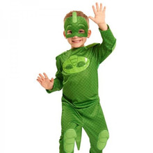 PJ Catboy Owlette Gekko Coaplay Kids Cape With Masks Wristband Cape Cosplay Costume