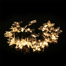 Warm White Solar Energy 30 LED Window Curtain Lights String Lamp House Party Decor Striking Christmas Home Garden Decoration(China)