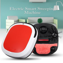 Smart Robotic Vacuum Cleaner Cordless Floor Dust Auto Sweeping Machine Dry Wet Tank Brushless Aspirador for Home(China)