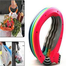 One Grips Shopping Grocery Bag Holder Handle Carrier Lock Labor Saving Tool(China)