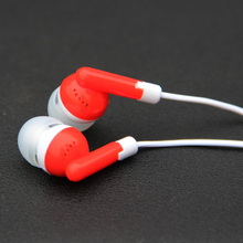 MOONBIFFY 3.5mm Wired Stereo Earphone headset Remote&Mic Earphone For IPHONE For Samsung Xiaomi for Android Smartphone MP3 MP4