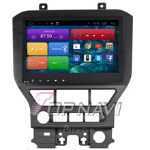Capacitive Screen Quad Core Android 4.4 Car Stereo for Mustang With 16GB Nand Flash Memory Wifi Bluetooth GPS Map