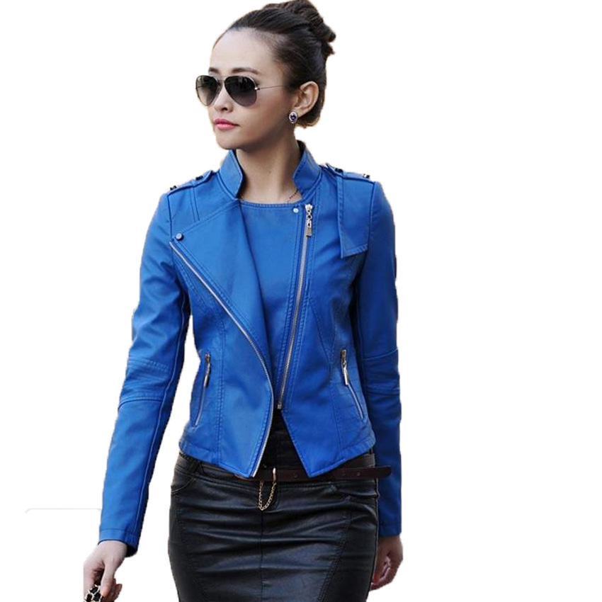 free shipping women's leather jackets slim short  leather clothing women female fur clothing Plus size M-4XL 8 colors 148