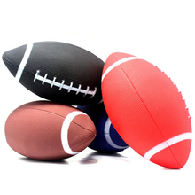 New Rubber Rugby Size 6 American Football Balls 2016 France Euro Children Training Ball Beach Sports England Rugby Entertainment(China)