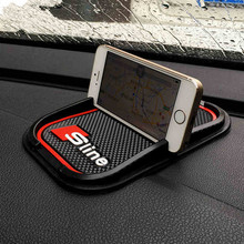 Sline 3D Anti-Slip Mat Mobile Phone GPS Holder Non Slip Pad S Line Emblem Badge Car Sticker Decal for Audi A3 A4 A6 S3 Q3 Q5 S5