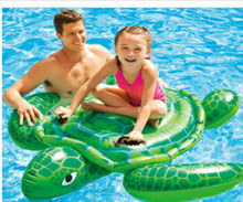 Hot sale summer vocation children  inflatable games turtle  swimming pool.150*127 inflatable games swimmer