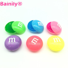 [Bainily]1pcs anti stress Crystal Colorful Clay Mud baby funny toys Rubber slime gift for children