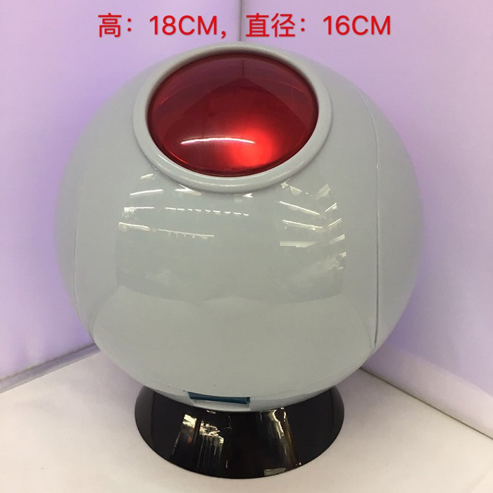 Free Shipping 6 Anime Dragon Ball Z Space Pod with LED 1/12 Scale Boxed 16cm PVC Action Figure Collection Model Doll Toy<br>