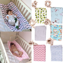 2018 Brand New Fashion Portable Baby Hammock Newborn Infant Bed Elastic Detachable Crib Safe Baby Hammock(China)
