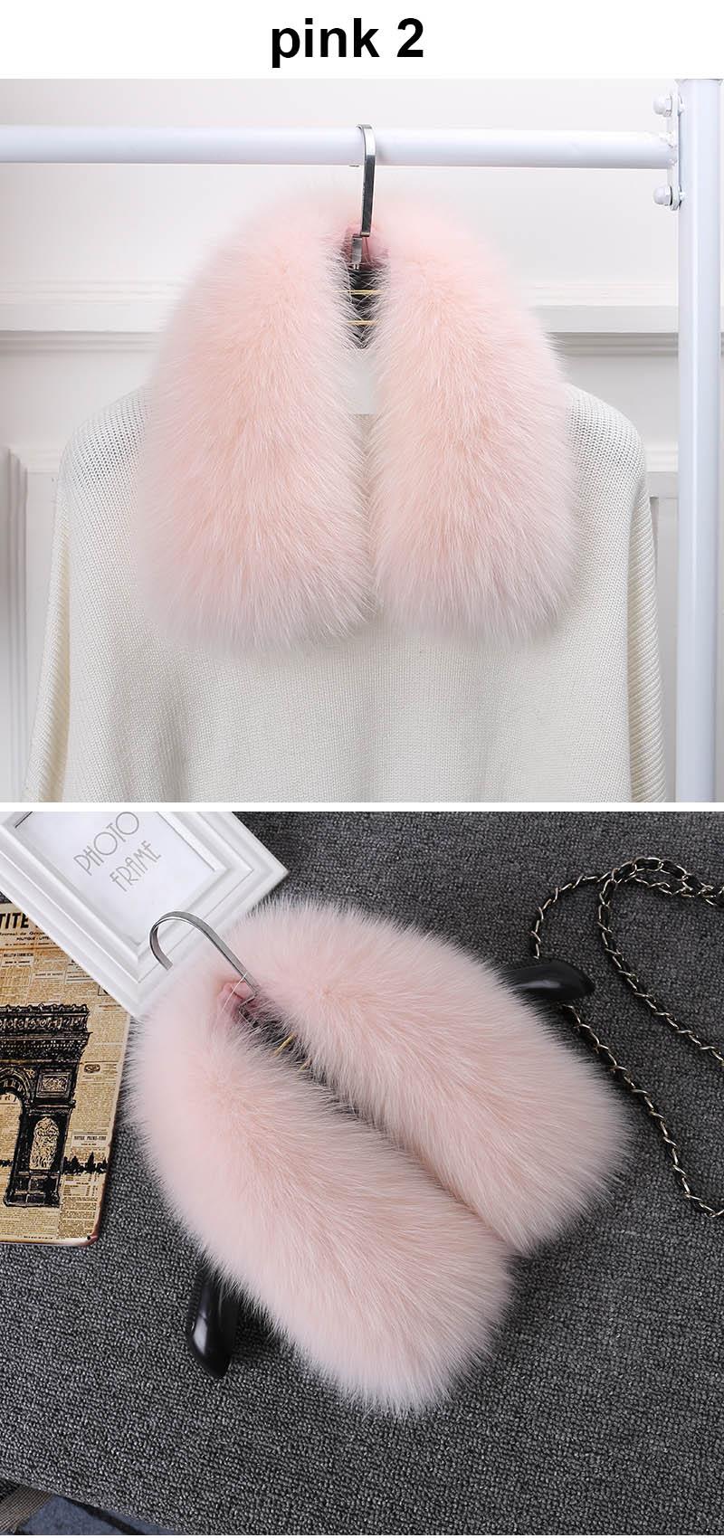 fox fur collar pink 2 11