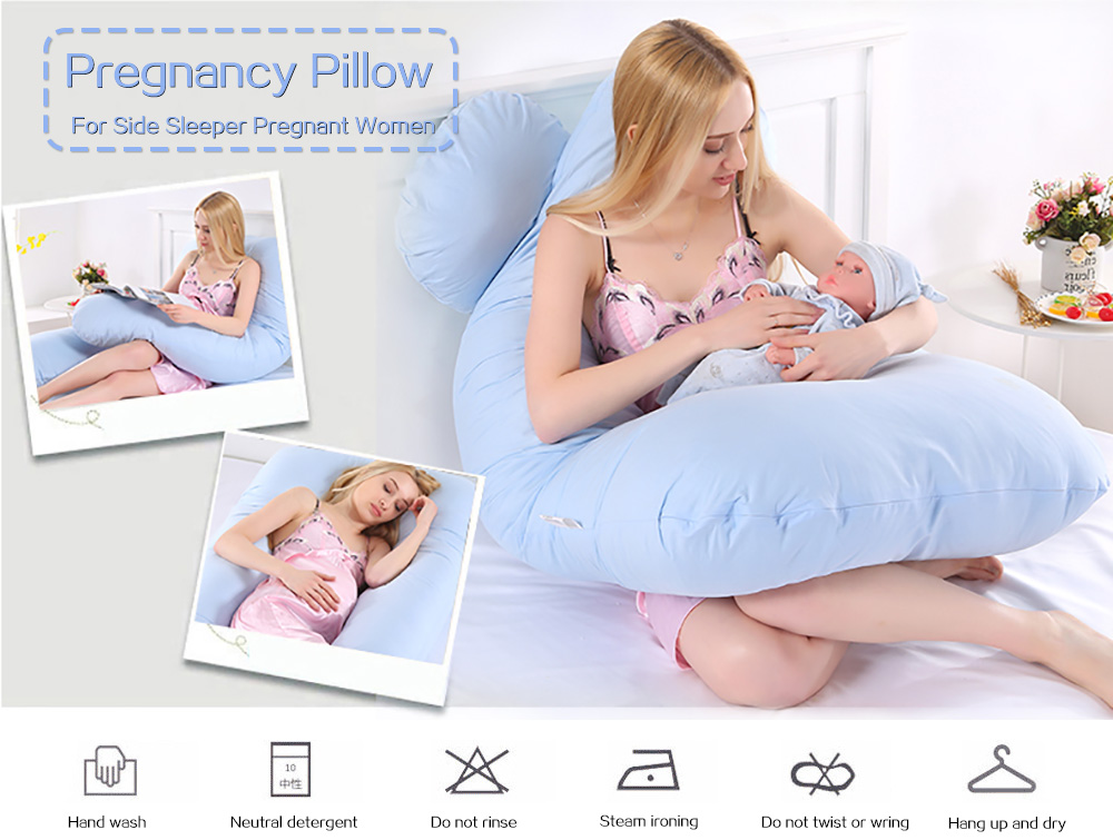 Ihrtrad Pregnancy Pillow, Maternity Pillow, U Shaped Body Pillow Pregnancy,Garden Light Solar