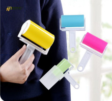 1PC Sticky Clothes Sticky Buddy Lint Roller Hair Cleaning Brush for Wool Dust Catcher Carpet Sheets Hair Sucking Sticky LF 069(China)