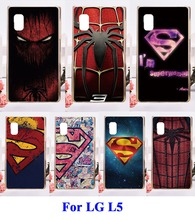 DIY Painted Phone Back Cover For LG Optimus L5 E610 E612 Cases Anti-Knock Hard Plastic Telephone Accessories Protective Skin