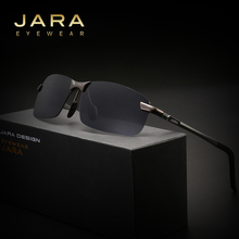 JARA Aluminum Magnesium Rimless Polarized Sunglasses Men Driver HD Sun Glasses Male Fishing UV400 Outdoor Sports Eyewear 3043