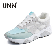 Buy UNN Winter Sport Running Shoes Women Suede Retro Gray Sneakers Women 2017 Outdoor Anti-skip Ladies Shoes Pink for $21.72 in AliExpress store