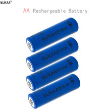 4pcs a lot Ni-MH 3200mAh AA Batteries 1.2V AA Rechargeable Battery NI-MH battery for Remote control Toys LED lights