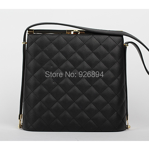 Simple and stylish casual and elegant ladies handbag PU Quilted Clutch evening bag purse wedding party 2colors free shipping<br>