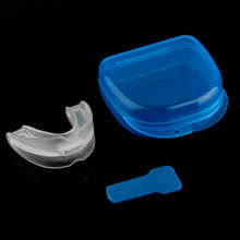 Dental Stop Anti Snoring Solution Device Snore Stopper Mouthpiece Tray Stopper Sleep Apnea Mouthguard Health Care Best selling