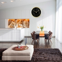 It is the simplicity of modern living room wall clock creative bedroom quartz clock clock watch Nordic home(China)