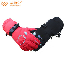 Electric Heating Gloves  Outdoor Work Electric Heated Hands Warmer Gloves Winter Ski Warm Glove 3000mAh Rechargeable Battery
