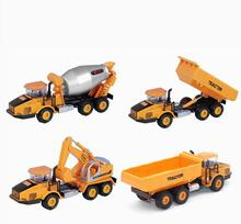 Alloy Truck Excavator Toys Vehicle Model Diecast Cars  Metal Model Car Brinquedos  Dinky Toys For Children Educational Toys