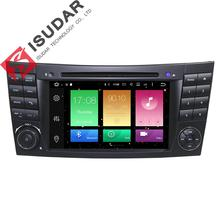 Android 6.0.1 Two Din 7 Inch Car DVD Player For E-Class/W211/Mercedes/Benz/CL Octa Cores 2G RAM 32G ROM 3G/4G WIFI Radio GPS