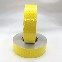 5CM x45M, Commercial Grade,Reflective tape for truck,Orange yellow, truck conspicuity marking tape,Free shipping(China)