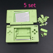 5 Set Apple Green Color Replacement Shell Housing for NDSL Case Cover Replacement for DS Lite Game Console