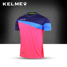 2016 Kelme Brand New soccer jerseys short sleeve fitnenss clothes sport training jersey Free shipping