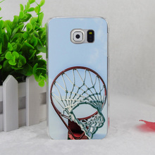 A1677 Basketball Rim Red Transparent Hard Thin Case Cover For Samsung Galaxy S3 S4 S5 S6 S6 Edge S7