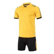 Hot Sale Breathable Short Sleeve Soccer Set Men Professional Uniform Camisetas Plus Size Football Sets
