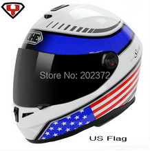 YOHE 966 national flag Motorcycle helmet  ,Motorbike Full face helmet , electric bicycle helmets