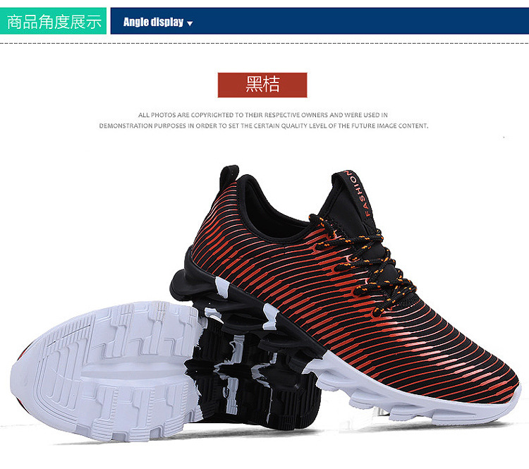 17New Hot Light Running Shoes For Men Breathable Outdoor Sport Shoes Summer Cushioning Male Shockproof Sole Athletic Sneakers 39