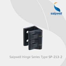 Saipwell SP-213-2 zinc alloy window hinges cover kitchen corner cabinet hinges door hinges for pvc doors 10 Pcs in a Pack(China)