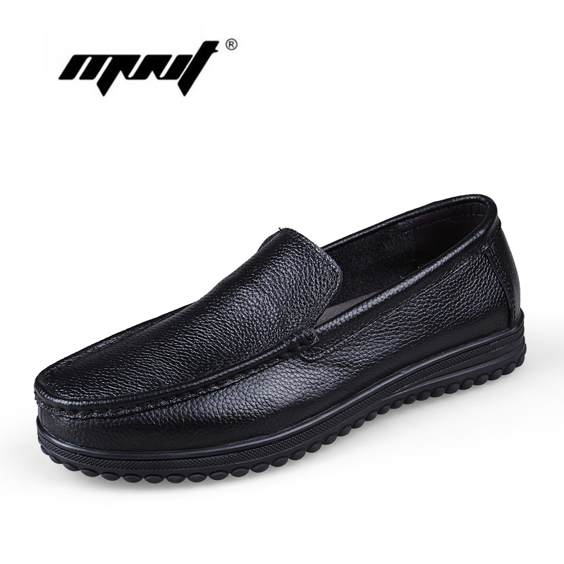 Full grain leather Men Shoes Plus Size Flats Shoes Fashion Soft Leather Loafers Moccasins Handmade Zapatos Hombre <br>