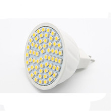 Shenmeile 1pcs new 3w MR16 GU10 E27 LED Cup LED Sportlighting bulb lamp smd2835 220v AC 48leds