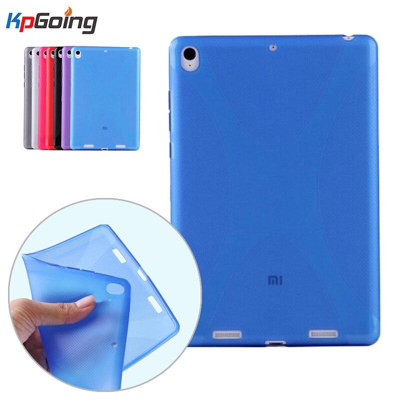 Xiaomi Mipad 1 Case X-Line Grip Soft TPU Clear Matting Cover Funda Xiaomi-Mipad 1 Capa Xiaomi Mi Pad 1 Back Cover Matte Capinha<br><br>Aliexpress