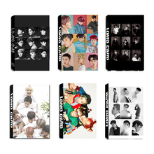 Youpop KPOP EXO EX'ACT Sing For You FIJI LOTTO CBX For Life Album LOMO Cards Self Made Paper Photo Card HD Photocard LK313