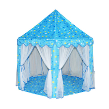 Portable Children Tent Princess Castle Activity Fairy House kids Play Tent Funny Indoor Outdoor Playhouse Baby Beach Tent Toy