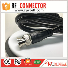 Free shipping 5PCS 1.4M RF RG58 Cable assembly BNC male to BNC male connector with IP67 waterproof RG58 jumer cable