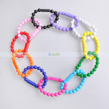 Universal Micro USB Bracelet Beads Cable 24cm Data Sync Charger Charging Cable for Samsung S3/4/5/6/7 Edge Android Phone