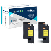 LCL C593-103125  C593103125 (2-pack)  Yellow 2000 pages Laser Toner cartridge Compatible for Dell 2130 2135