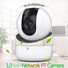 Hikvision DS-2CV2Q01FD-IW 1.0 MP Network PT Camera Build-in Microphone Speaker Wifi Baby Monitor IP Camera